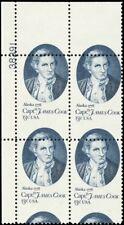 1732, 13¢ Misperforation ERROR Plate Block Captain Cook MNH - Stuart Katz