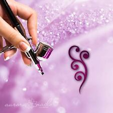 Airbrush sticky templates F044 NAILART Blumenmuster Floral Tendril Ornament 80x