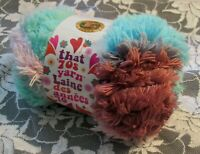 NEW LION THAT '70s YARN Good Vibes Blue Pink Acrylic Polyester 100 g Turkey E E
