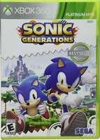 Sonic Generations Xbox 360 Brand New