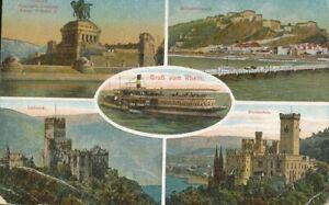Burg Lahneck, Schloss Stolzenfels feldpgl1918 136.037