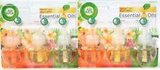2 Air Wick Natural Essential Oil Hawaii Virg Island Coco Splash 3 Ct Oil Refills