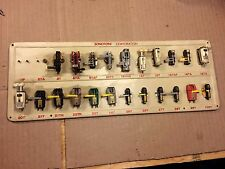 Vintage Sonotone Cartridge Display with 22 NOS Carts & Stylus 100T 14T 20T 21T