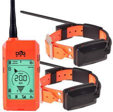 X22+ satellitare dogtrace per cani con 2 collari inclusi palmare arancio