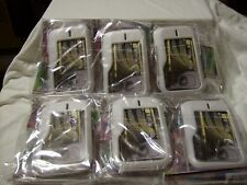 LOT OF 6 NOKIA SURGE 6790 CASE RUBBERIZED COVER COLOR WHITE / BRAND NEW / SEALED