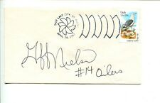Gifford Nielsen Brigham Young BYU HOF Houston Oilers Signed Autograph FDC
