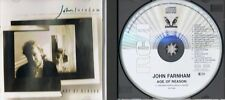 John Farnham - Age of Reason - CD Album RCA PD71839