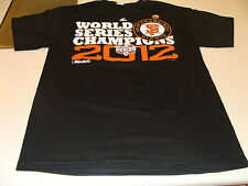 San Francisco Giants 2012 World Series Champions Official Parade MLB T-Shirt S