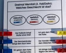 Top-Klammerkarten, Deutsch Grundschule, Montessori, neu