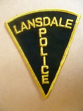 Patches: LANSDALE POLICE PATCH (NEW,apx.11x9 cm)