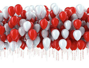 100 LARGE PLAIN BALLOONS BALLONS Helium BALOON Quality Birthday Wedding CHRIST