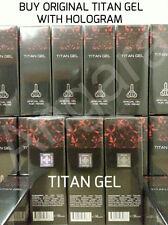 4 x50 ml TITAN GEL PENIS ENLARGMENT GROWTH GEL GUARANTEED ORIGINAL WITH HOLOGRAM