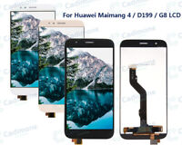 For Huawei Ascend G8 GX8 RIO-L01 L02 Display Touch Screen Digitizer Assembly AAA