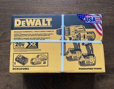 DeWALT DCK299M2 20-Volt Lithium-Ion MAX XR Drill and Impact Driver Combo Kit NEW