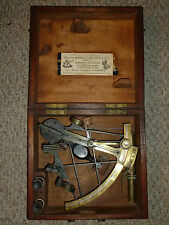 Rare Antique nautical sextant by Wilson & Gillie, Bruce & Sons