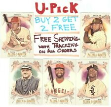 2021 Topps Allen & Ginter Base Cards (1-175) RC HOF Buy 2 Get 2 FREE Ships FREE