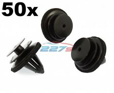50x Plastic Trim Clips for Door Cards, Fascia & Trim Covers- Fit Various Nissan