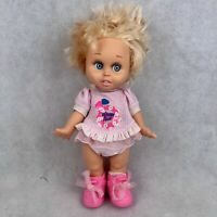 Vintage 1990 Galoob Baby Face Doll So Innocent Cynthia #7 Excellent Condition