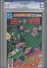 """Green Lantern #149  CGC 9.8  1982 DC Comic """"Death by Fire and Ice"""""""