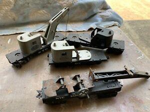 Marx Postwar - Junk Crane Parts Lot