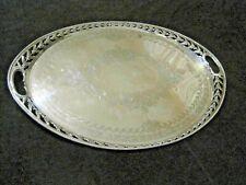 A Victorian Sterling Silver Tray London 1888, Frederick Elkington 120 ounces