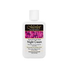 Merlot Natural Grape Seed Night Cream 118ml/4oz Brand New