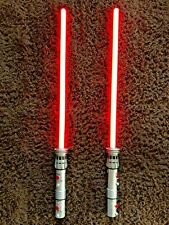 Ultimate FX Darth Maul Lightsabers Red 2012 - Pair - Star Wars Hasbro