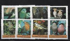 EQUATORIAL GUINEA 1977 BIRDS SET MNH
