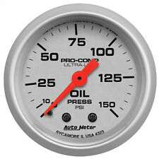 Autometer 4323 Ultra-Lite Oil pressure Gauge  2-1/16 in., Mechanical