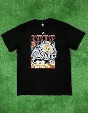 NEW SF Giants 2012 World Series T Shirt Black Tee Ring MLB Mens Size M Medium