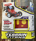 NEW Micro Terrain Titans R/C Vehicle Red Pro Buggy #1 TOMY 2007 NOS