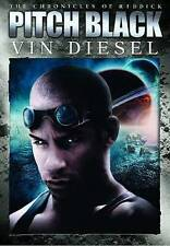 Pitch Black Unrated Director'S Cut Dvd 2004 Widescreen Vin Diesel New Sealed