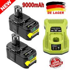Für Ryobi One+ Plus P108 18V Lithium High Capacity Akku P104 P105 P107 Ladegerät