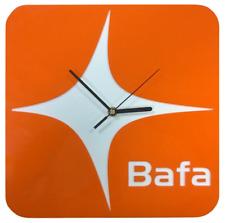Zegar reklamowy - indywidualny nadruk i kształt