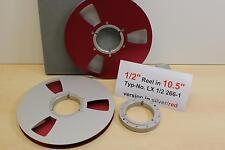 "1/2"" tape Reel 10,5"" para Studio-mecanizado. tascam, Ampex, sony-nuevo-nº lx1/2-266-1"