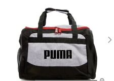 PUMA gym bag small Duffel gym yoga sport bag Gray transformation NEW