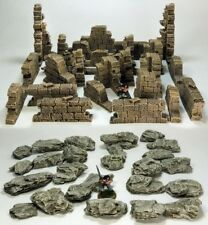 GHOST ARCHIPELAGO (suited) - 'RUINED WALLS & ROCK PACK' - PRE PAINTED TERRAIN