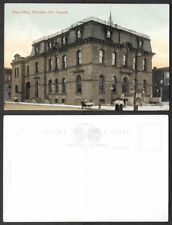 Old Canada Postcard - Windsor, Ontario - Post Office