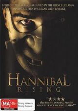 """HANNIBAL Rising DVD NEW THE BEST HANNIBAL MOVIE SINCE """"Silence Of The Lambs"""""""" R4"""