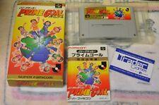 PRIME GOAL Super Famicom Japanese Version
