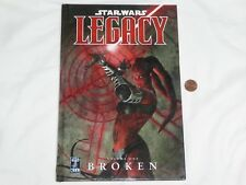NEW (READ) Star Wars Legacy Volume One : Broken Hardcover Book starwars 1 1st