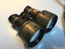 Antique British H.H. & Son Ltd military field binoculars (serial number: 178055)