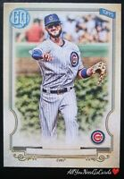 Kris Bryant 2020 Topps Gypsy Queen SP Missing Nameplate Variation #38 Cubs