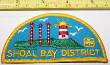 Girl Guides Shoal Bay District BC Canada Badge Label Patch
