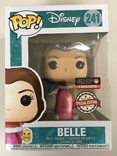 FUNKO POP Disney Belle Beauty & The Beast Glitter Diamond Collection EXCLUSIVE