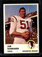 1961 FLEER #113 JIM SCHRADER REDSKINS NM D023097