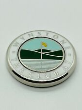 The Club at Wynstone Members Magnetic Golf Ball Marker Coin Medallion Mint Rare