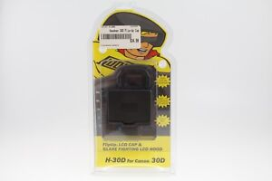 Hoodman H-30D FlipUp (Flip Up) LCD Cap Hood for Canon 30D (New Old Stock)