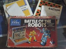 Rare 1960's Vintage Cavalcade Zodiac Games Battle of the Robots and 6 in 1 game