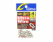 Owner P-25 Ultra Wire Split Rings Size 4 (5114)